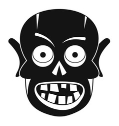 living dead icon simple style vector image