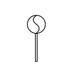 lollipop icon vector image