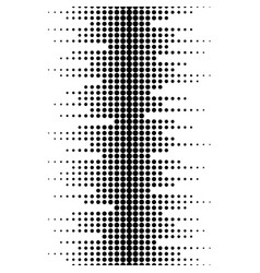 sound waves seamless pattern vector image vector image