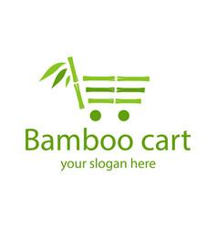 Bamboo logo vector