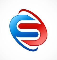 Business s circle orbit software logo vector