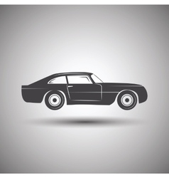 Car logo design transport vector