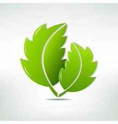 Leaf Symbol vector image