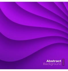 Violet Wavy background vector image