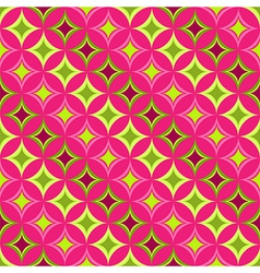 Pink seamless pattern vector