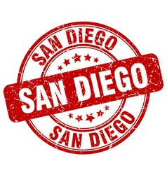 San diego stamp vector