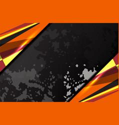Dark background grunge vector