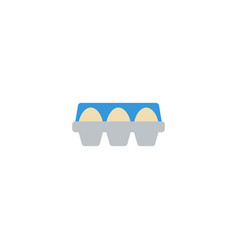 flat icon container element vector image