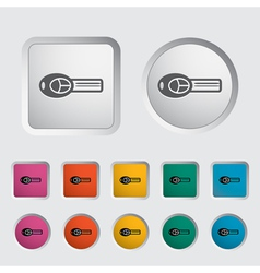 ignition key vector image vector image