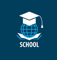 logo school vector image vector image