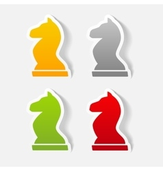 realistic design element chess vector image