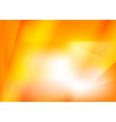 Abstract bright orange background vector
