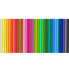 background with colored pencil vector image