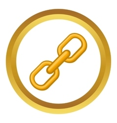 Chain icon vector image