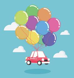 Concept auto loans vector