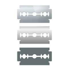 Razor Blade Set vector image