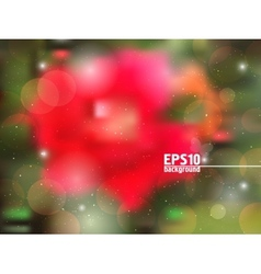 Abstract background with rose vector