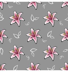 FlowerPattern3 vector image vector image