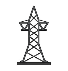 Transmission tower icon image vector