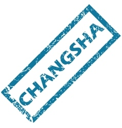 Changsha rubber stamp vector