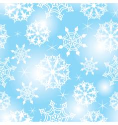 Seamless snow vector
