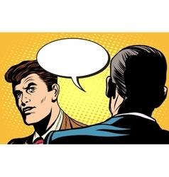 Business dialogue negotiations vector