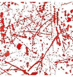 Seamless pattern with blood stains vector image