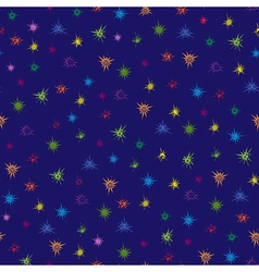Multicolour stars seamless pattern vector