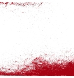 Grunge red texture vector