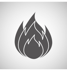 Fire flame design vector
