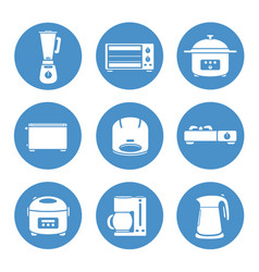 appliances vector image vector image