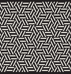 cubic grid tiling endless stylish texture vector image