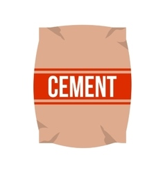 Cement bag vector