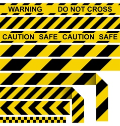 Absperrband barrier tape vector image