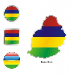 mauritius vector image vector image