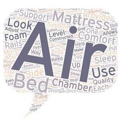 Not air mattress air mattress bed text background vector