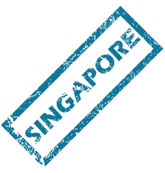 Singapore rubber stamp vector image vector image