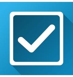 Checkbox gradient square icon vector