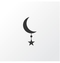 star icon symbol premium quality isolated vector image