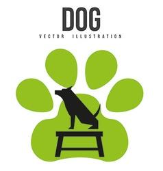 Veterinary centre design vector