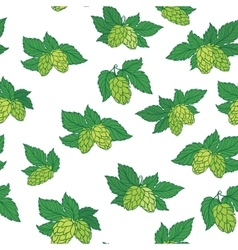 Hops Pattern vector image