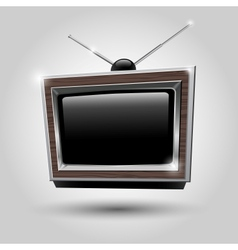 TV frame TV antennas vector image