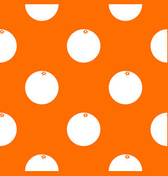 Mandarin pattern seamless vector