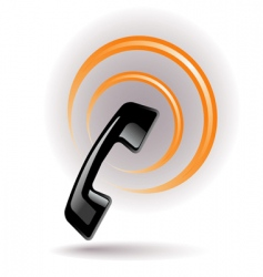phone signal vector image