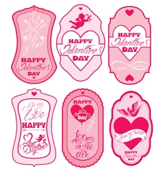 Love labels 380 vector