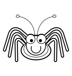 Cricket cartoon a bug life coloring page vector
