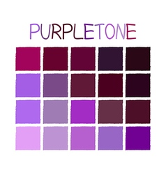 Purpletone color tone without name vector