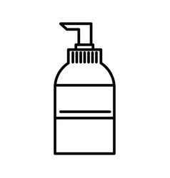 soap sign line icon sign on vector image