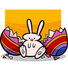Easter bunny 13 m vector