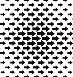 Seamless arrow design pattern vector